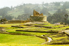 Ingapirca Inca Ruins In Ecuador royaltyfri fotografi