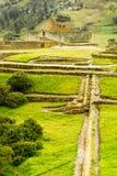 Ingapirca Inca Ruins In Ecuador. Ingapirca Ruins The Most Important Inca Civilization Constructions In Modern Ecuador Stock Images