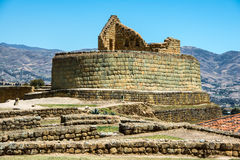 Ingapirca, Inca wall in Ecuador Royalty Free Stock Photography
