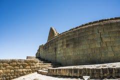 Ingapirca, Inca wall and town in Ecuador Stock Images