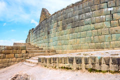 Ingapirca, largest known Inca ruins in Ecuad Stock Photo