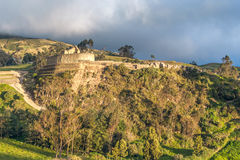 Ingapirca, largest known Inca ruins in Ecuador Royalty Free Stock Photo