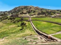 Ingapirca, largest known Inca ruins in Ecuador. Ingapirca, Inca wall and town, largest known Inca ruins in Ecuador Stock Photography