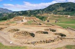 Ingapirca National Park in Ecuador Royalty Free Stock Photo
