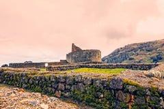 Ingapirca ruiny, Ekwador zdjęcia stock