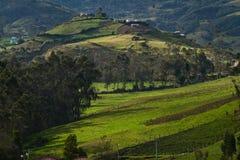 Ingapirca town in Canar Ecuador Stock Images