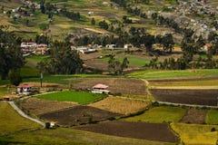 Ingapirca town in Canar Ecuador Royalty Free Stock Photos