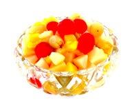 Ingeblikte fruitkom Royalty-vrije Stock Fotografie