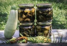 Ingeblikte groenten Stock Foto