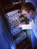 Ingegnere elettronico - ESSO tecnico Fotografia Stock