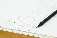 Ingegnere meccanico Fotografie Stock