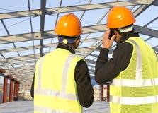Ingegneri di costruzione Immagine Stock Libera da Diritti