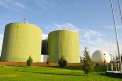 Ingegneria del biogas Immagini Stock