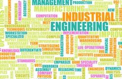 Ingegneria industriale illustrazione di stock