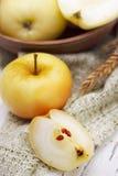 Ingelegde appelen van het vat Royalty-vrije Stock Foto