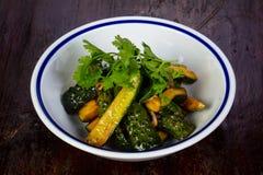 Ingelegde groene komkommers Stock Foto