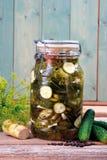 Ingelegde komkommer Royalty-vrije Stock Afbeeldingen