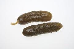 Ingelegde komkommer Stock Foto's