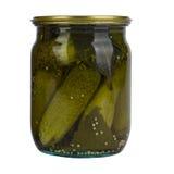 Ingelegde komkommers Royalty-vrije Stock Afbeeldingen