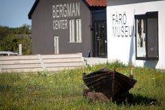 Ingemar Bergman center on Fårö.GN Royalty Free Stock Photo
