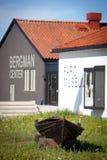 Ingemar Bergman center on Fårö.GN Stock Images