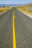 ingen övergående yellowstone zon Arkivfoton