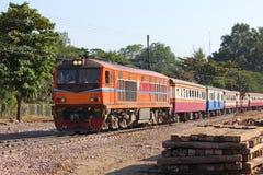 Ingen Alsthom diesel- lokomotiv 4102 Royaltyfria Bilder