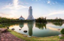 Ingen 5 av de mest högväxta bildande byggnaderna i världen Arkivbilder