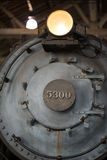 Ingen b-nolla 5300 lokomotivarbeten för president Washington Baltimore Ohio Railroad Baldwin Arkivfoto
