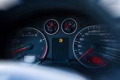 Ingen bensin/gas Royaltyfri Foto