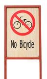 Ingen cykel Arkivbild