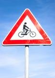 Ingen cykel undertecknar Royaltyfri Fotografi