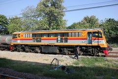Ingen diesel- lokomotiv för Ge 4007 Arkivbild