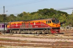 Ingen diesel- lokomotiv för Ge 4542 Arkivfoto