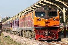 Ingen diesel- lokomotiv för Ge 4542 Arkivfoton