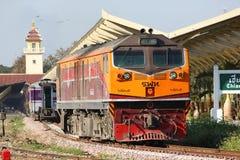 Ingen diesel- lokomotiv för Ge 4542 Arkivbilder