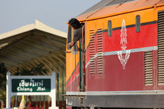 Ingen diesel- lokomotiv för Ge 4542 Royaltyfri Bild
