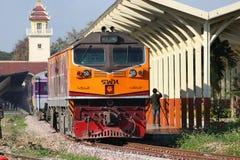 Ingen diesel- lokomotiv för Ge 4542 Fotografering för Bildbyråer