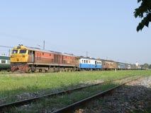 Ingen diesel- lokomotiv för Ge 4541 och utbildar inga 14 Arkivbild