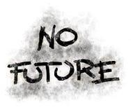 Ingen framtid Royaltyfria Foton
