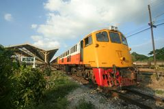 Ingen Ge-lokomotiv 4041 för östligt & orientaliskt uttryckligt drev Arkivfoto