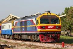 Ingen Hitachi diesel- lokomotiv 4511 Fotografering för Bildbyråer