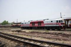 Ingen Hitachi diesel- lokomotiv inget drev 4512 14 Royaltyfri Foto