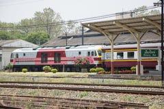 Ingen Hitachi diesel- lokomotiv inget drev 4512 14 Royaltyfria Bilder