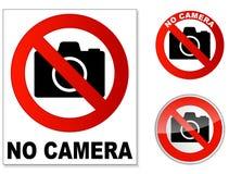 Ingen kamera Arkivfoto