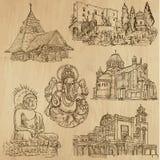 Ingen klosterbroder 8 - Vektorpacke, handteckningar stock illustrationer