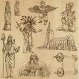 Ingen klosterbroder 11 - Vektorpacke, handteckningar vektor illustrationer