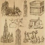 Ingen klosterbroder 7 - Vektorpacke, handteckningar vektor illustrationer