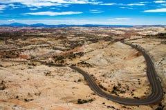 Ingen panorama av vägen 12 Fotografering för Bildbyråer