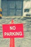 ingen parkering Fotografering för Bildbyråer